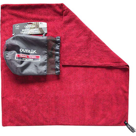 Travel Towel Bcf: Outrak Microfibre Towel - Extra Large