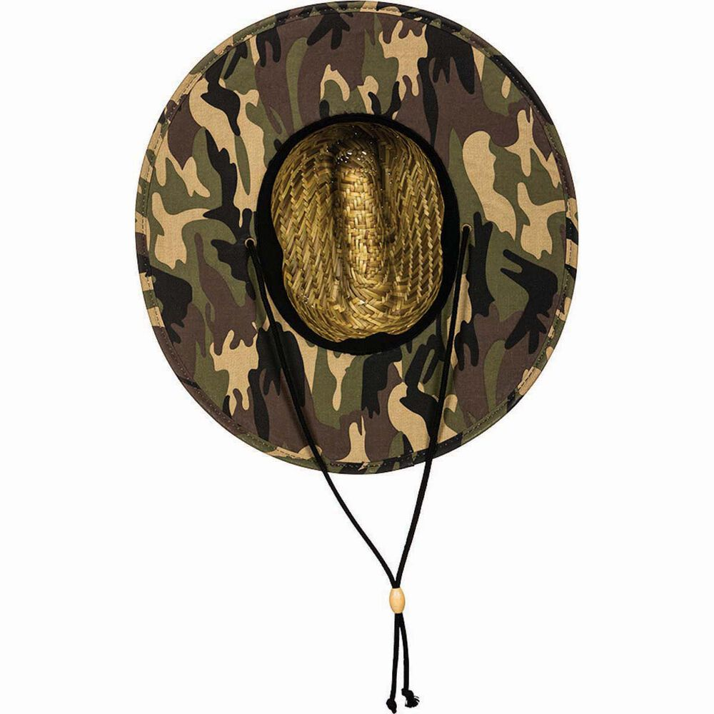 116659c30c6 The Mad Hueys Men s Camo Straw Hat