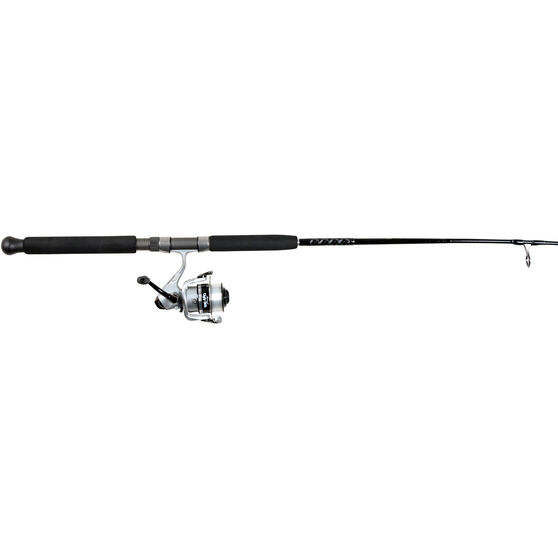 Shakespeare Black Pearl Spinning Combo 6ft 6in 4-8kg, , bcf_hi-res
