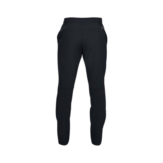 Under Armour Men's Fusion Pants, Black / Pitch Grey, bcf_hi-res