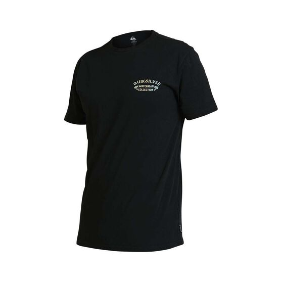 Quiksilver Waterman Men's Kingfisher Tee, Black, bcf_hi-res