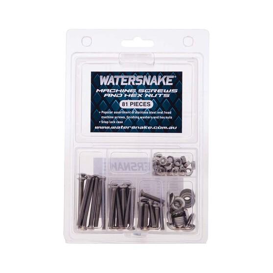 Watersnake Machine Screw Kit 81Pcs, , bcf_hi-res