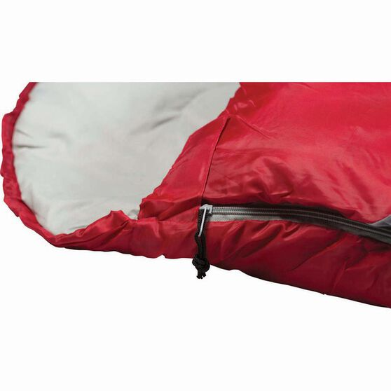 Starlite Hooded Sleeping Bag, 0 to 4, Red & Black, , bcf_hi-res