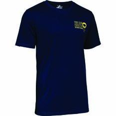 The Mad Hueys Men's Fisho Short Sleeve UV Tee, Navy, bcf_hi-res