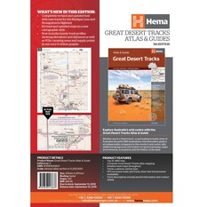 Hema Great Desert Tracks Atlas and Guide (5th Edition), , bcf_hi-res