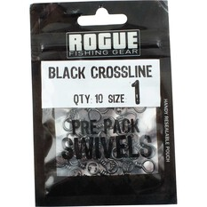 Rogue Black Crossline Swivel 10 Pack, , bcf_hi-res