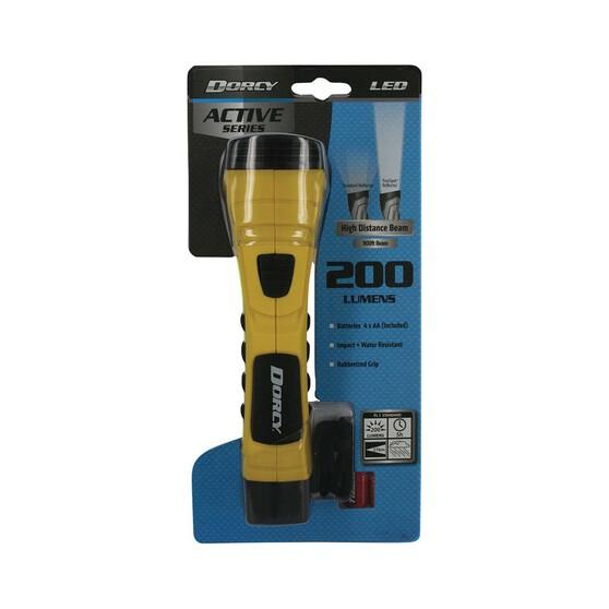 Dorcy 200 Lumen Active Series Torch, , bcf_hi-res