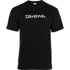 Daiwa Men's Logo Tee Black S, Black, bcf_hi-res