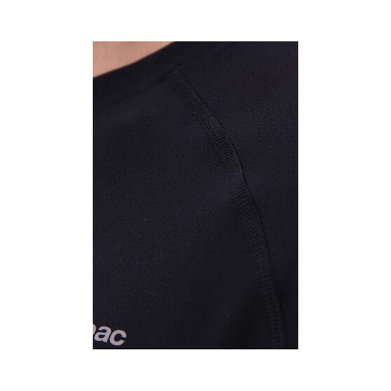 Macpac Men's Eyre Long Sleeve Tee, Black, bcf_hi-res