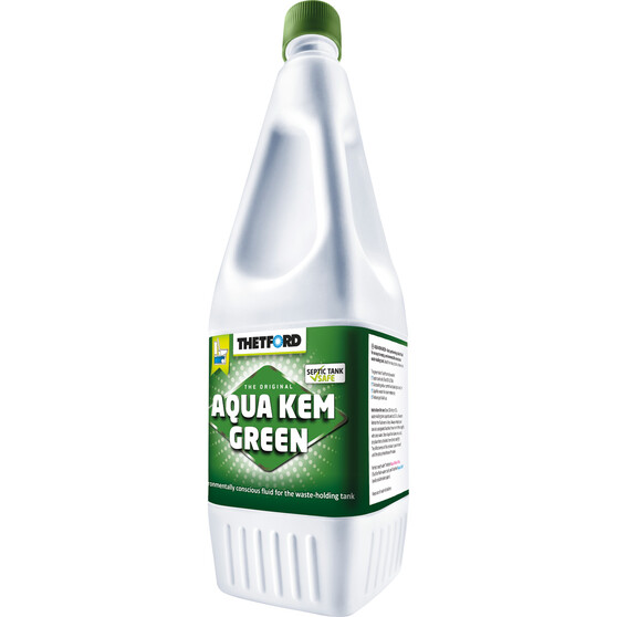 Thetford Aqua Kem Green Toilet Additive 2 Litre 2L, , bcf_hi-res