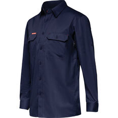 Men's Y07720 Long Sleeve Shirt Navy S, Navy, bcf_hi-res