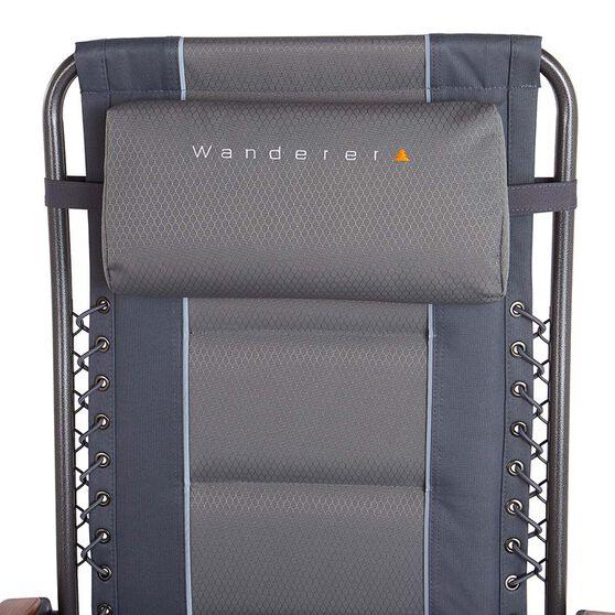 Wanderer Premium Reclining Alloy Lounger, , bcf_hi-res
