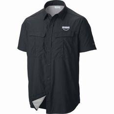 Columbia Men's Cascades Shirt Black S, Black, bcf_hi-res