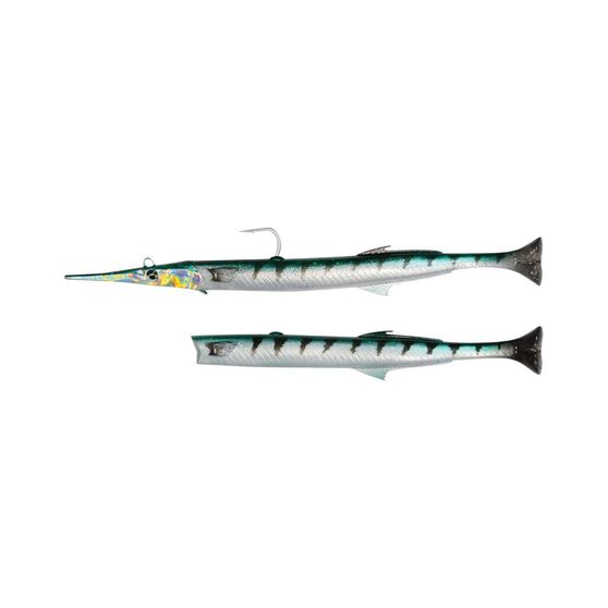 Savage Gear 3D Garfish Soft Plastic Lure 30cm Barracuda, Barracuda, bcf_hi-res