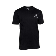 The Mad Hueys Men's Logo Short Sleeve Tee Black S, Black, bcf_hi-res