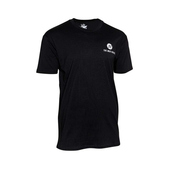 The Mad Hueys Men's Logo Short Sleeve Tee, Black, bcf_hi-res