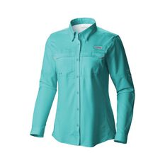 Columbia Women's Low Drag Offshore Long Sleeve Shirt Dolphin XS, Dolphin, bcf_hi-res