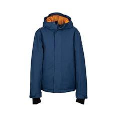 OUTRAK Youth Line Snow Jacket Navy / Orange 6, , bcf_hi-res