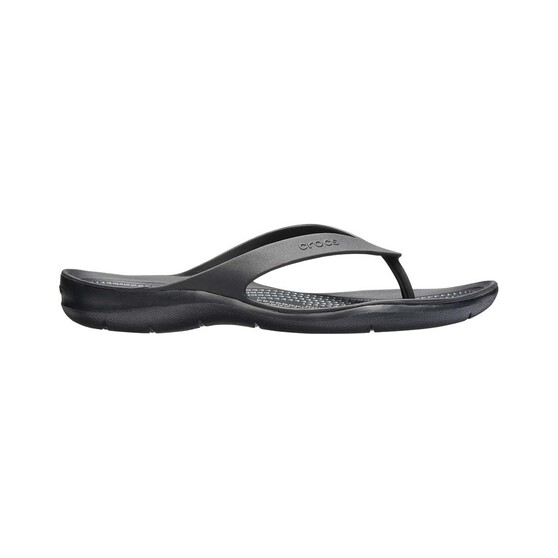 Crocs Womens Swiftwater Flip, Black, bcf_hi-res