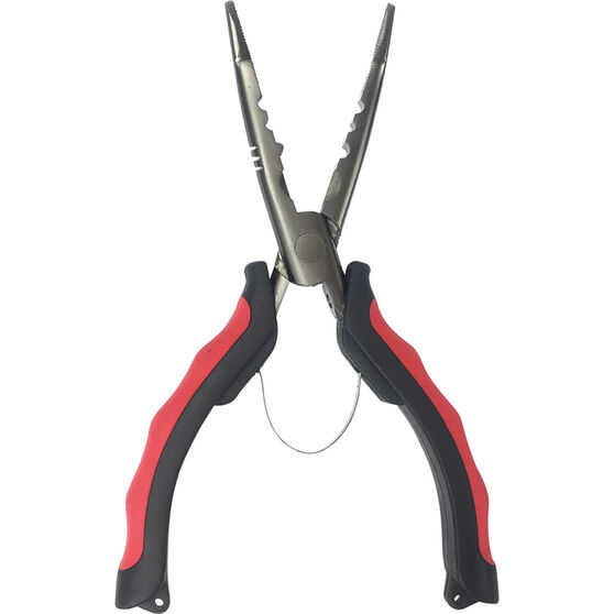Kato Stainless Steel Bent Nose Pliers 8in, , bcf_hi-res