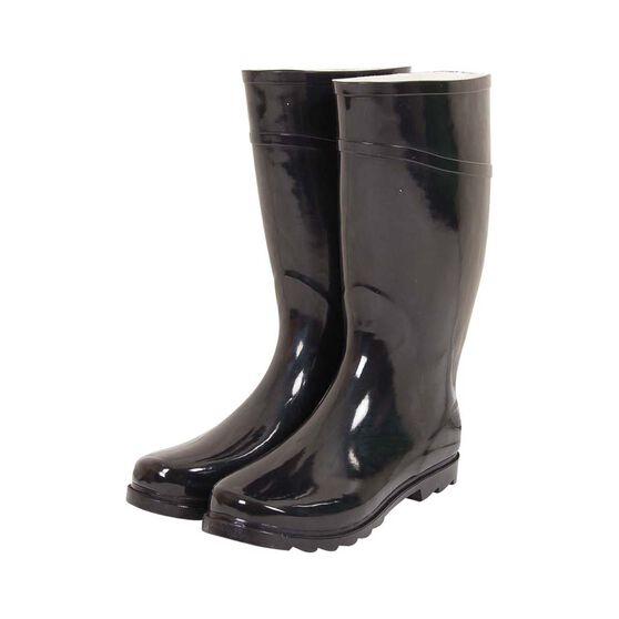 BCF Men's Gumboots, Black, bcf_hi-res