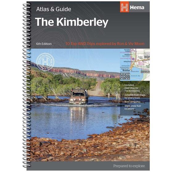 Hema Kimberley Atlas & Guide (6th Edition), , bcf_hi-res