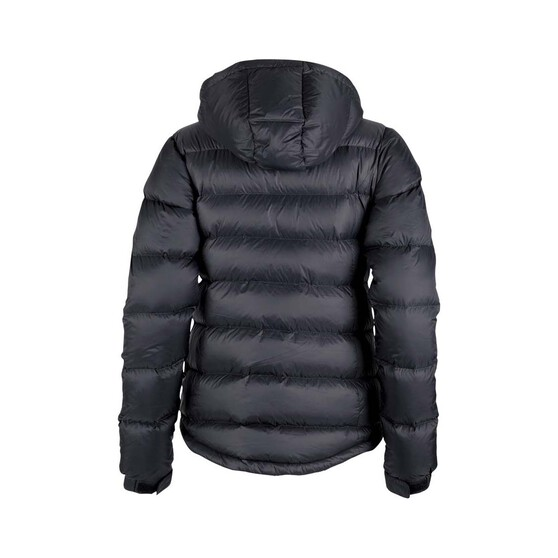 Macpac Womens Halo Hooded Jacket, Black, bcf_hi-res