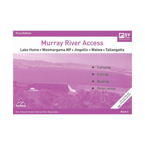AFN Murray River Access Map 6 Lake Hume to Tallangatta, , bcf_hi-res