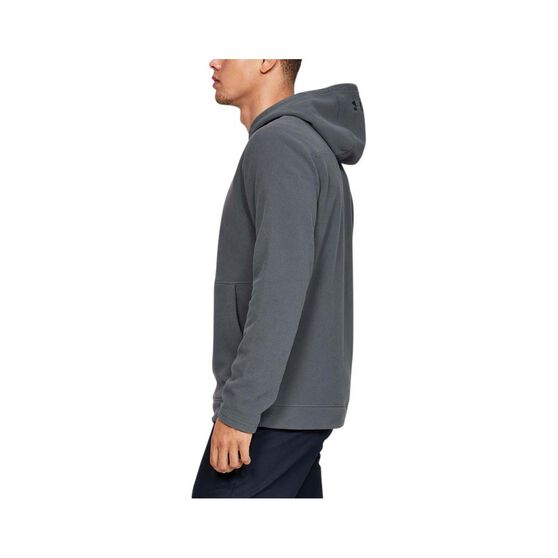 Under Armour Men's OffGrid Fleece Hoodie Pitch Grey L, Pitch Grey, bcf_hi-res