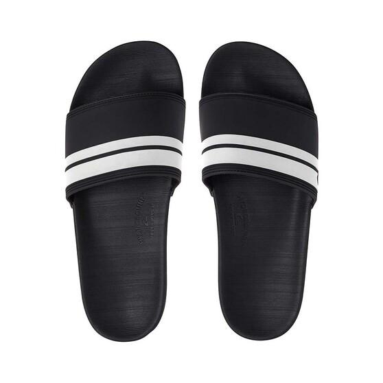 Quiksilver Men's Waterman Rivi Slide, Black / White, bcf_hi-res