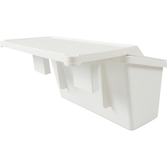 Bowline Tinnie Storage Bin With Bait Board, , bcf_hi-res