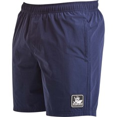 The Mad Hueys Men's Hybrid Volley Short 17.5in Navy 30, Navy, bcf_hi-res