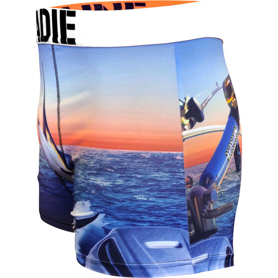 Tradie Men's Hooked Trunks Hooked S, Hooked, bcf_hi-res