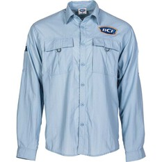 BCF Men's Long Sleeve Fishing Shirt Spray 5XL, Spray, bcf_hi-res