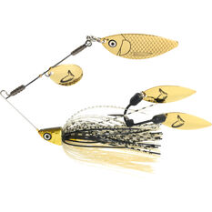 Savage TI Flex Spinner Bait Lure 9g Black / Gold, Black / Gold, bcf_hi-res