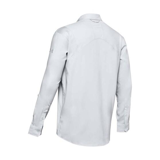 Under Armour Men's Tide Chaser 2.0 Long Sleeve Shirts, Halo Grey / Mod Grey, bcf_hi-res