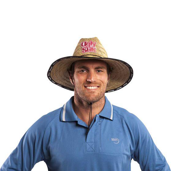 Ugly Stik Unisex Logo Straw Hat, , bcf_hi-res