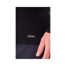 Macpac Men's Geothermal Long Sleeve, Black, bcf_hi-res