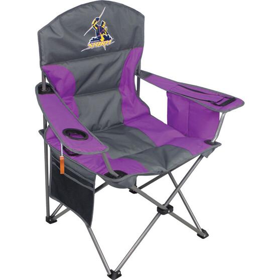 NRL Melbourne Storm Camp Chair, , bcf_hi-res