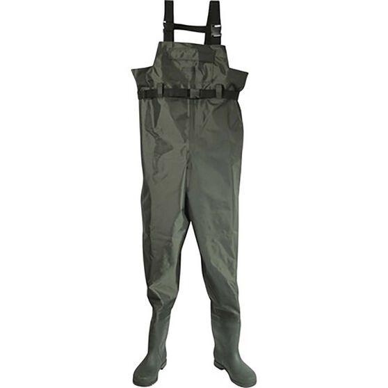Rogue Nylon PVC Waders Size 10, , bcf_hi-res