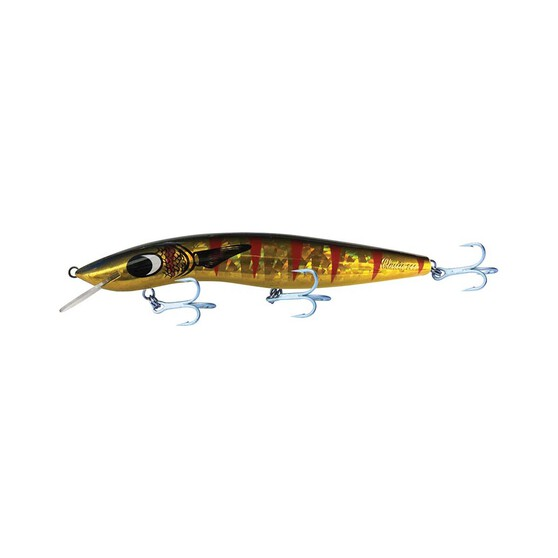 Classic Barra Hardbody Lure 200mm 10ft Gold Mullet Dazzler, Gold Mullet Dazzler, bcf_hi-res