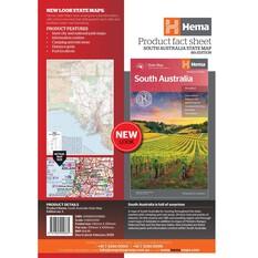 Hema South Australia State Map (8th Edition), , bcf_hi-res