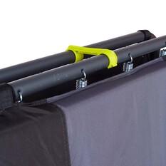 Wanderer Spring Folding Mattress Stretcher Single, , bcf_hi-res