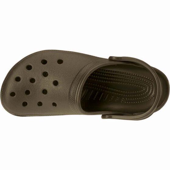 Crocs Unisex Classic Clog Navy M5 / W7, Chocolate, bcf_hi-res