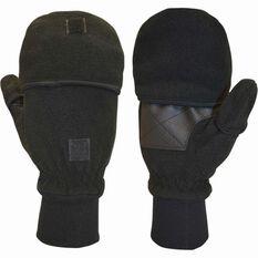 XTM Unisex Trigger Hooded Gloves Black M, Black, bcf_hi-res