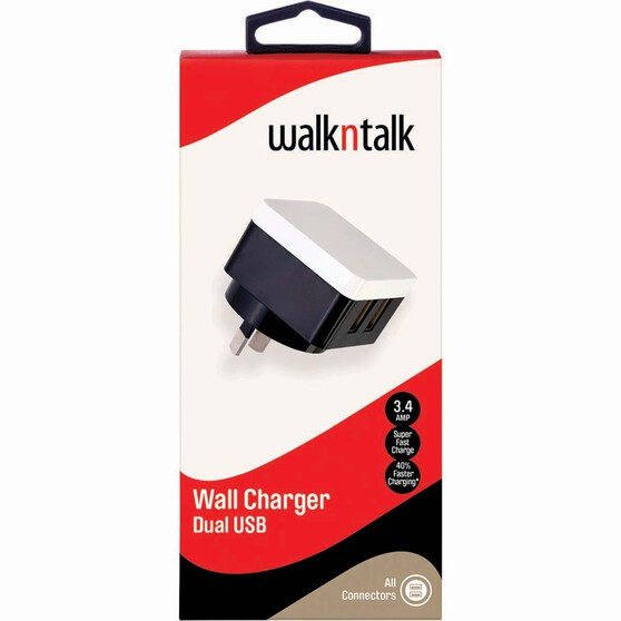 Walkntalk 3.4A Power Charger, , bcf_hi-res