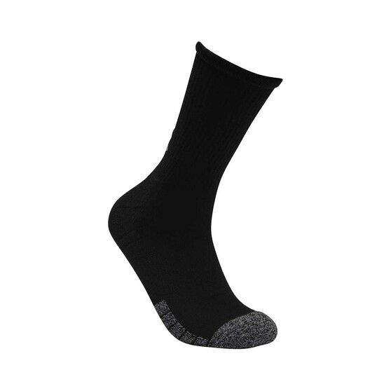 Under Armour Men's Heatgear Crew Socks 3 pack, Multi, bcf_hi-res