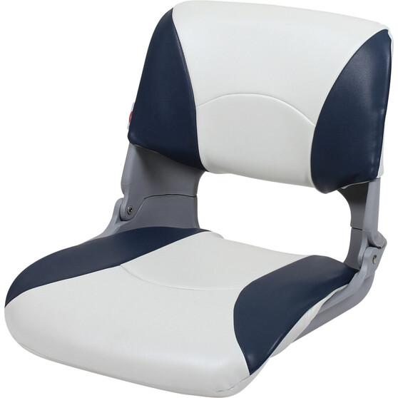 Blueline Tinnie Pro Boat Seat Blue / White, Blue / White, bcf_hi-res