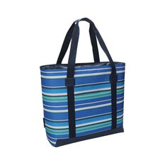 Wanderer Summer Stripe Beach Cooler Bag, , bcf_hi-res
