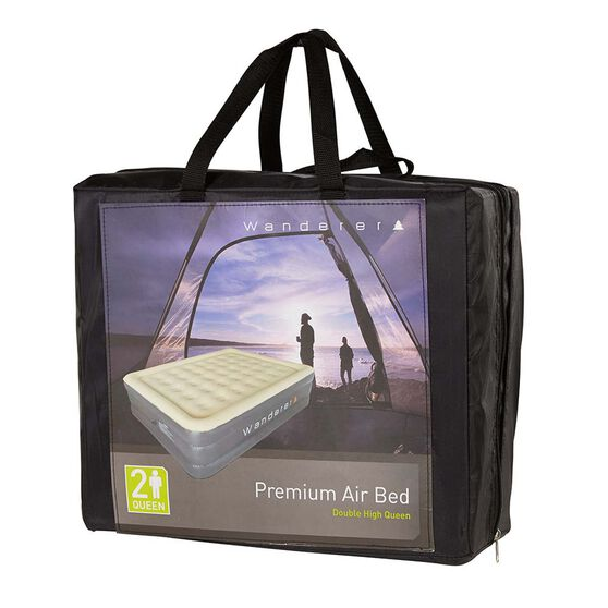 Wanderer Double High Premium Air Bed Queen, , bcf_hi-res